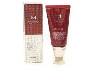 Missha Perfect Cover BB cream - 50 ml 21 - jasny beż buy: http://www.azjatyckibazar.com/missha-perfect-cover-bb-cream/