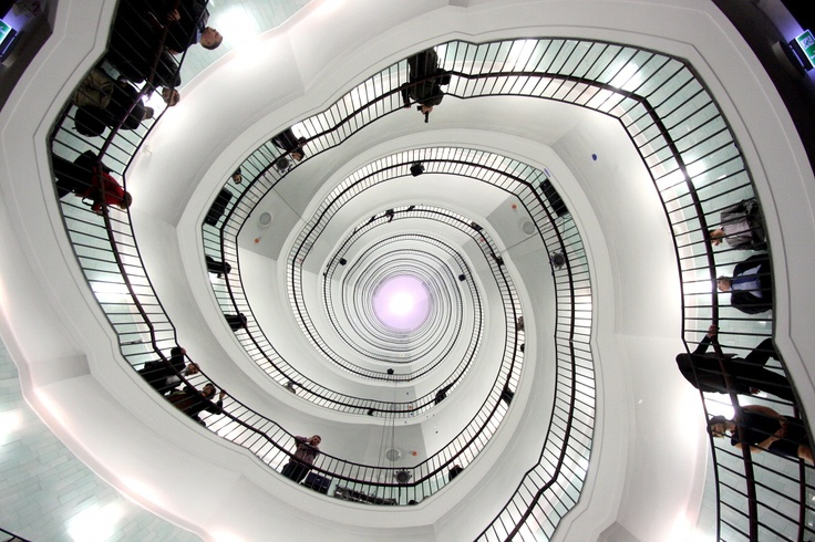 staircase in okraglak, poznan