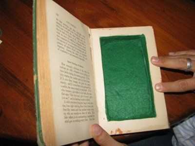 really good secret book safe tutorial, no tediously gluing each page! (saw this and thought of you) @Jordan Hooper