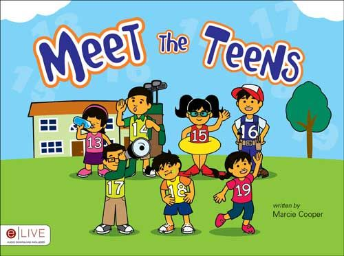 My little book for teaching teen numbers. Website has free printable worksheets too!