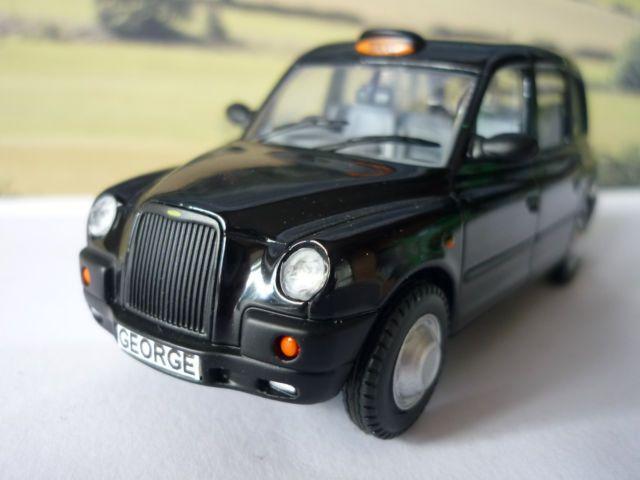 Personalised Plates, TX4 London Black Taxi Cab diecast model. 