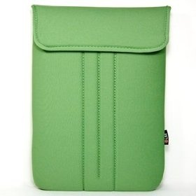 Cosmos  Green Neoprene/Cotton 13.3 13 inch Laptop notebook computer case/bag/sleeve for Apple macbook white/macbook air 13.3/macbook pro 13.3 and other laptop brand - DELL HP TOSHIBA SONY ASUS ACER LENOVO GATEWAY+ Cosmos cable tie.  List Price:$35.99  Sale Price:$10.99  Savings:$25