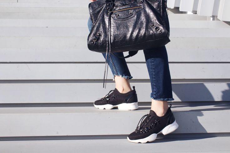 Kimmie More, Fashion, blog, balenciaga, jeans, autumn, street style, 2016