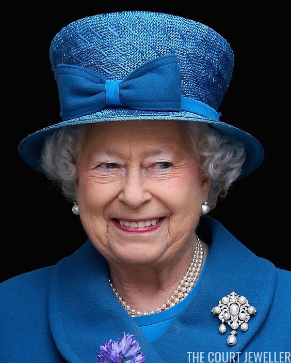 The Top Ten: Queen Elizabeth II's Pearl Brooches | The Court Jeweller