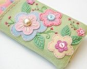Etsy seller SewSweetStitches..sweetest little handsewn iphone cases and other things...