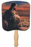When churches didn't have air-condition ... Funeral Home Hand Fans ...