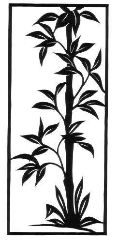 cut paper design Bamboo Inspiration
