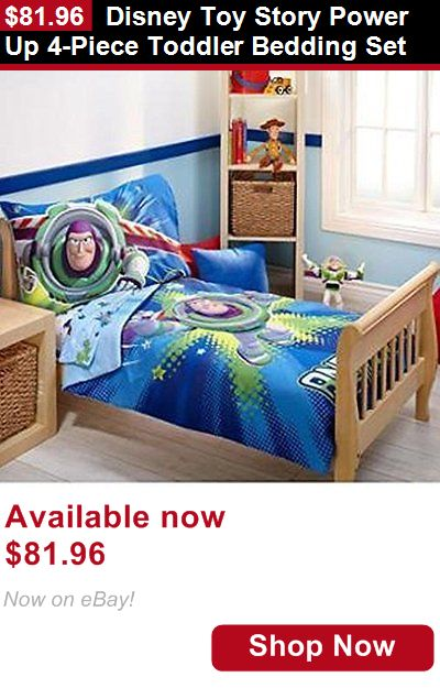Other Nursery Bedding: Disney Toy Story Power Up 4-Piece Toddler Bedding Set BUY IT NOW ONLY: $81.96