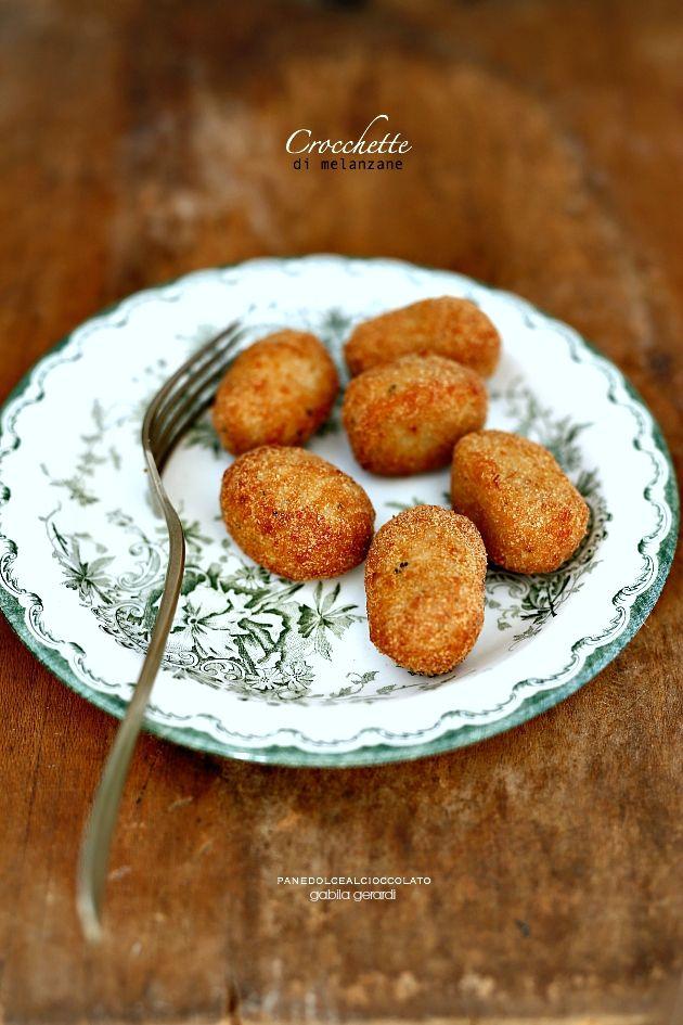 Crocchette di melanzane con Feta e patate