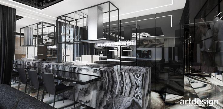WELCOME TO THE JUNGLE | I | Wnętrza apartamentu | Nowoczesna kuchnia