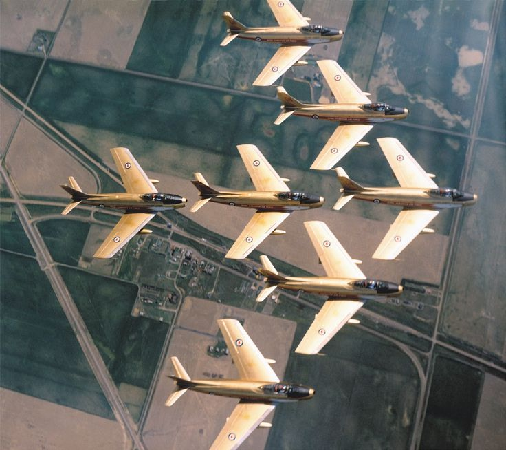 Royal Canadian Air Force - F-86 Sabre/Golden Hawks Circa 1963