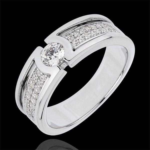 Bague de fiançailles Constellation - Diamant Solitaire - diamant 0.27 carat : bijoux Edenly