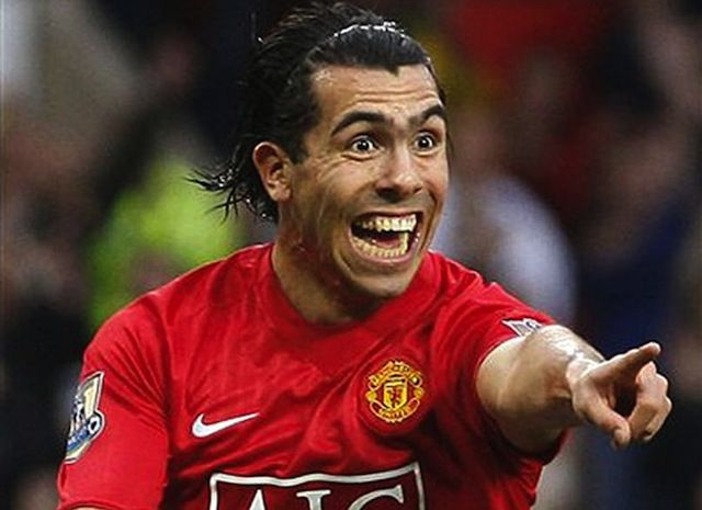 Carlos Tevez's History of Crazy - Tevez is a hard-worn soccer player, who seemingly sleeps in the sun and eats chunks of steel for dinner. #sports #soccer #Argentina