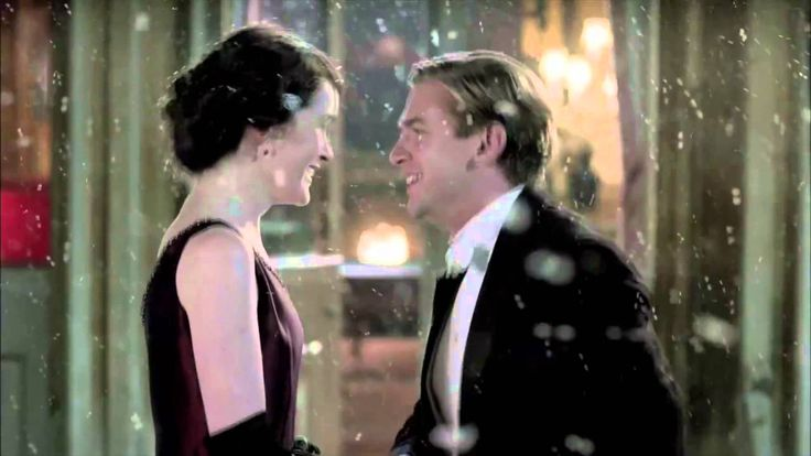 A beautiful video, Romance on Downton Abbey: to the music of A Thousand Years