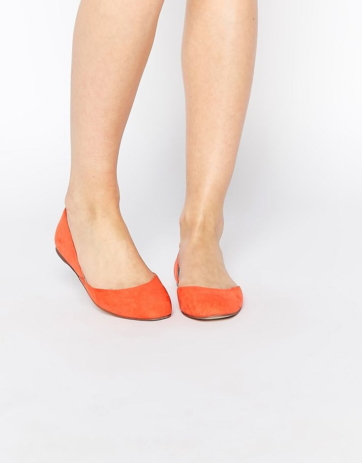 Image 1 of ASOS LEONIE Square Ballet Flats