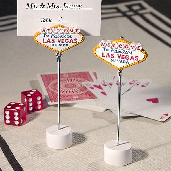 Seat Guests At Your Las Vegas Themed Wedding Reception Or Monte Carlo Party With Welcome