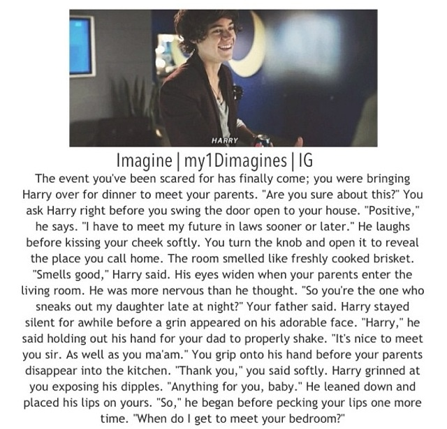 Harry Styles Imagine Imagines And Preferences Pinterest We