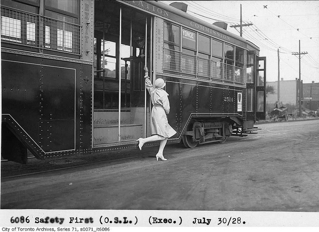 Safety first by Toronto History, via Flickr