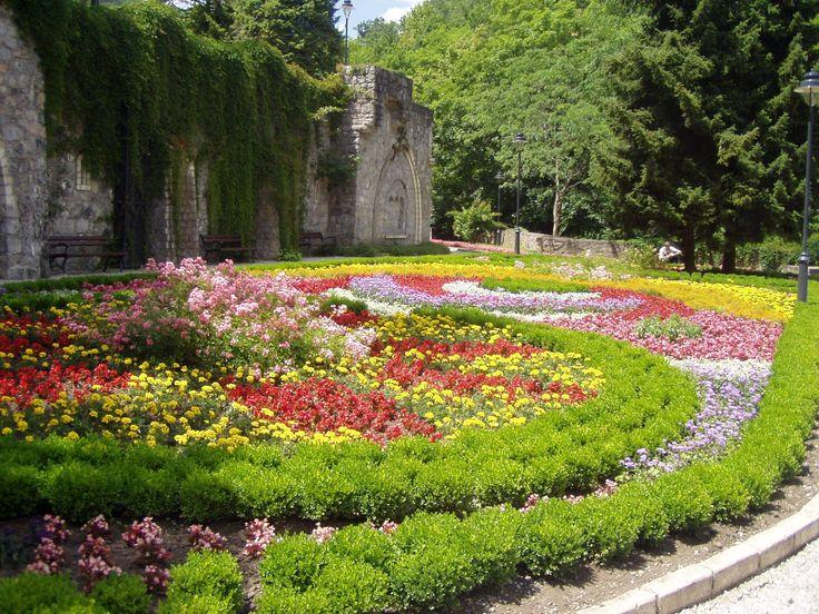 Lillafüred - Függőkertek - virágok