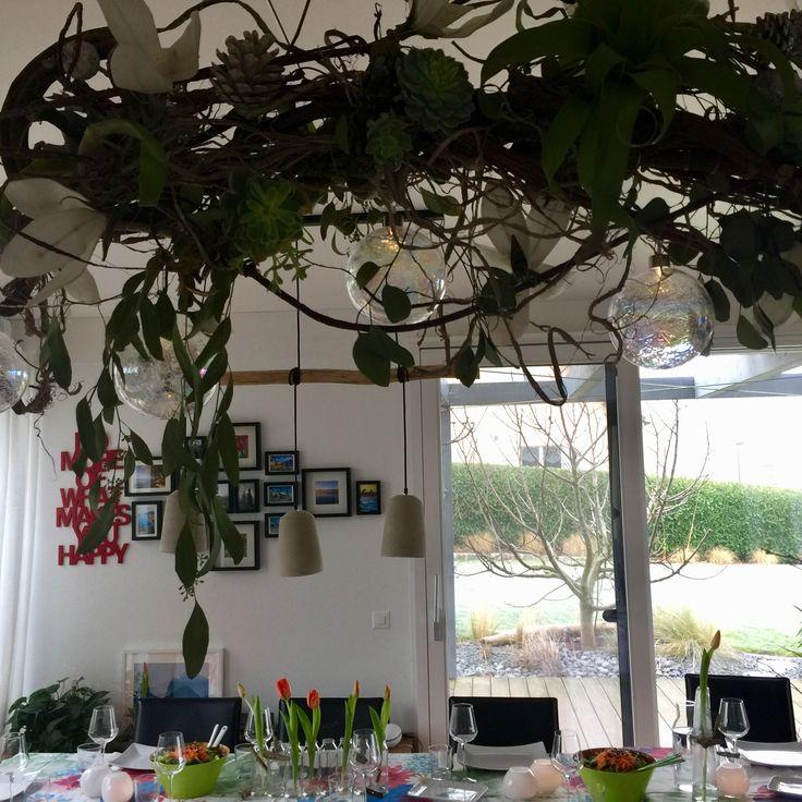 Suspension - arrangement floriste