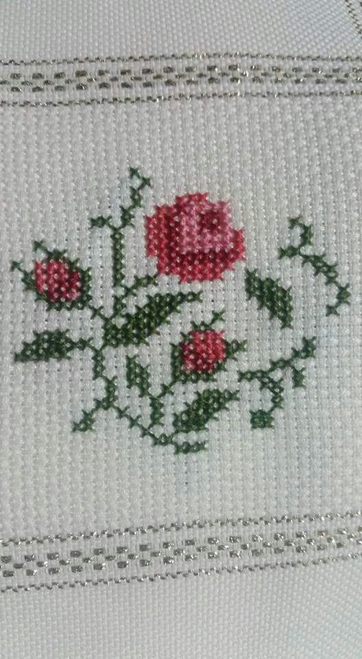 Flor [] #<br/> # #Put,<br/> # #Crossstitch,<br/> # #Embroidery,<br/> # #Tablecloths,<br/> # #Flower,<br/> # #Cream,<br/> # #Crochet<br/>