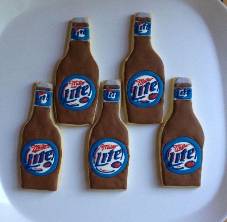 Miller Lite Cookies
