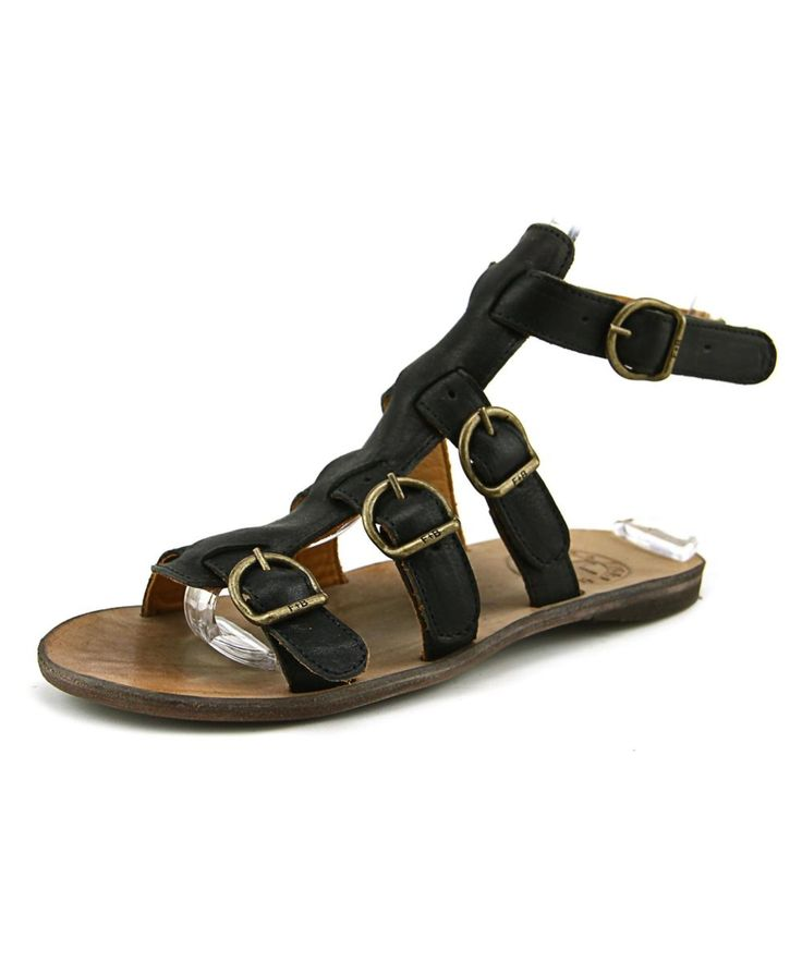 FIORENTINI + BAKER | Fiorentini + Baker Thea-S Women  Open Toe Leather Black Gladiator Sandal #Shoes #Sandals #FIORENTINI + BAKER