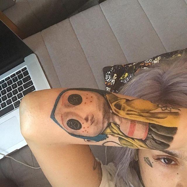 Coraline Tattoo || Kehlani Inspired ||