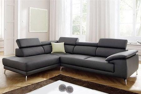 Divanoangolare family salotto angolare modern interamente for Divani angolari economici