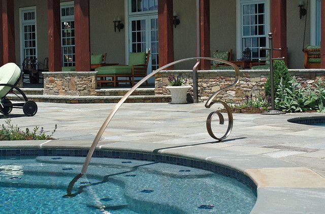 Best 37 Best Metal Pool Handrails Images On Pinterest Metal 400 x 300