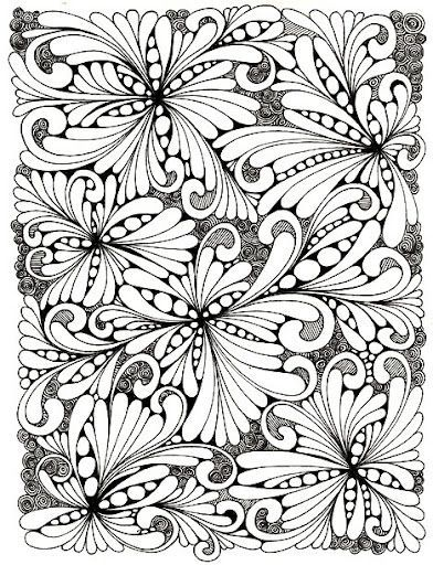 917 best Zentangles and More images on Pinterest | Tangle doodle ...