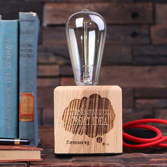 Edison lampe Award ™ récompenses personnalisés par TealsPrairie