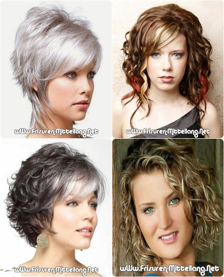 Curly Frisuren der Frauen 2015