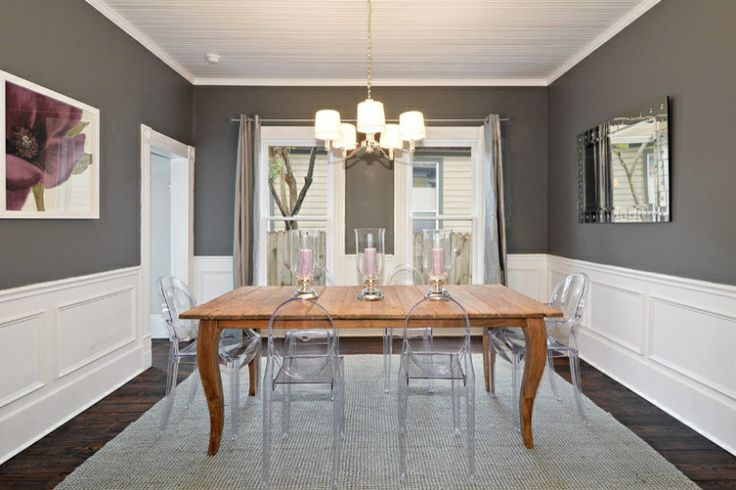 most popular gray paint colors | Benjamin Moore Revere Pewter HC-172 | Hirshfield's Color Club