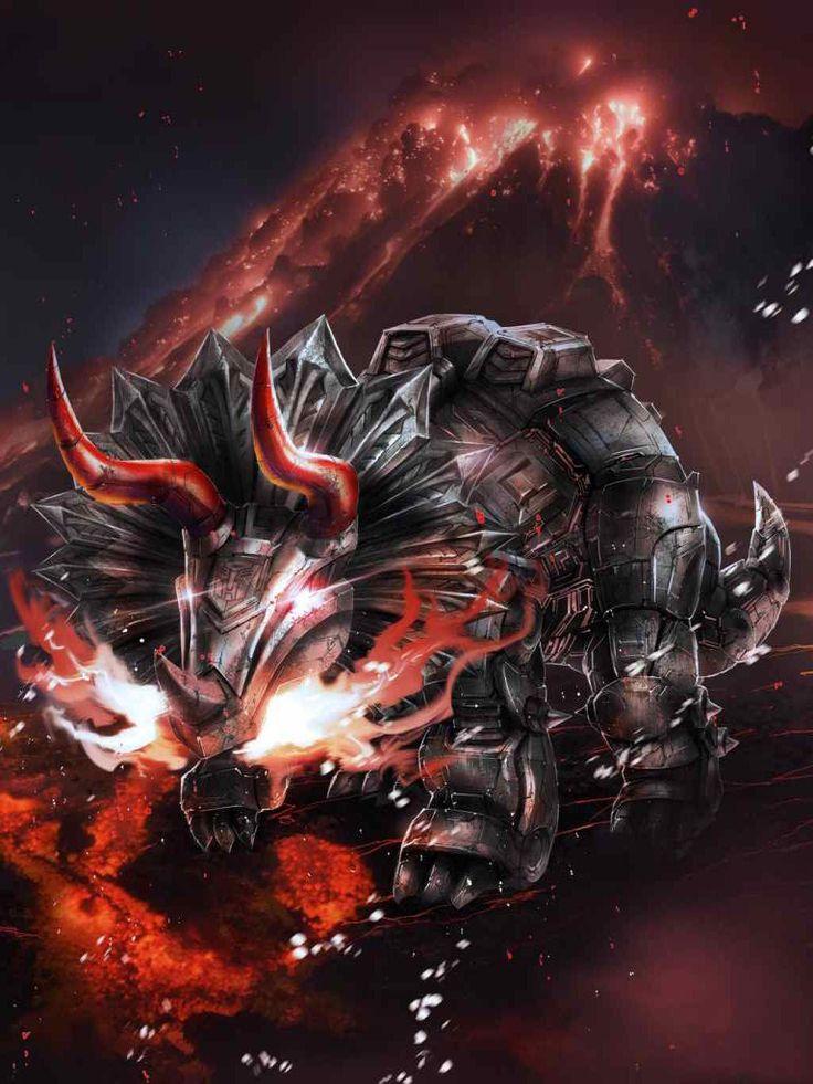 Dinobot Slag Artwork From Transformers Legends Game