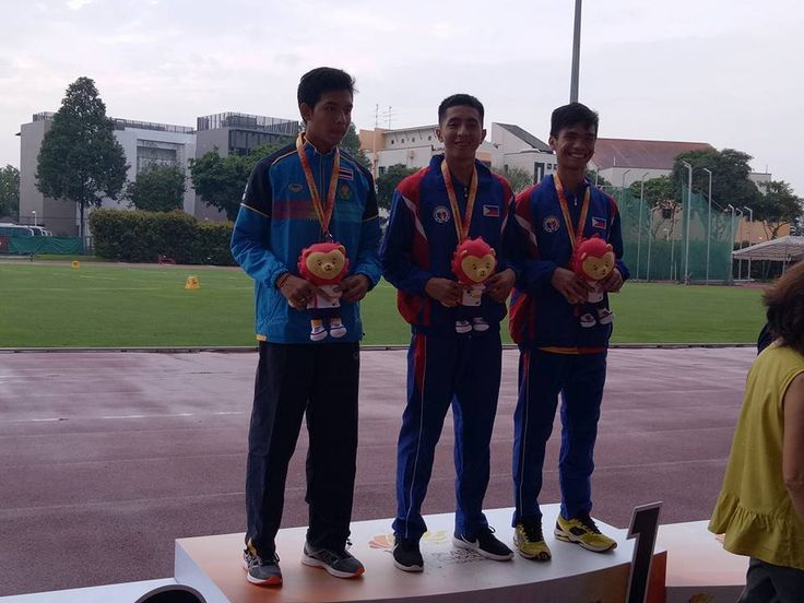 91452bd5d1ac 2017 ASEAN School Games Athletics SINGAPORE The Philippines amassed 2  Golds