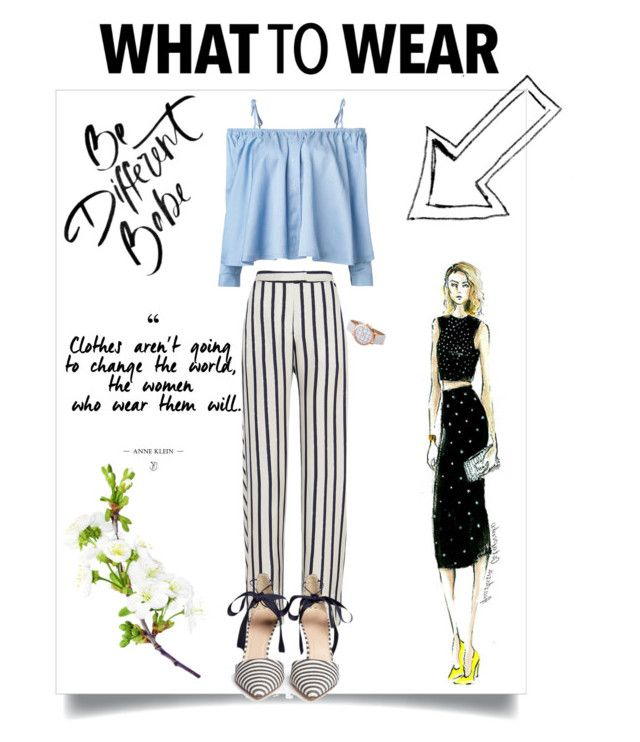 Untitled #26 by nka12 on Polyvore featuring polyvore, fashion, style, Sandy Liang, Nicholas, J.Crew and clothing
