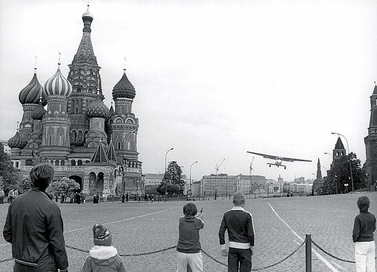 Mathias Rust, the teenager who flew illegally to Red Square, 1987