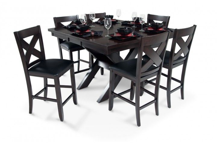 x factor pub table at bob's discount furniture | kitchen