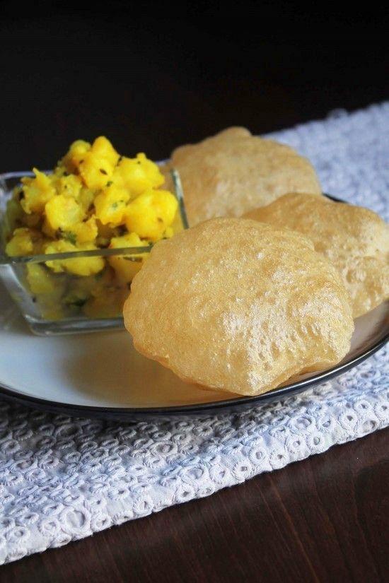 Poori Recipe (Puri Recipe)   How to make Pooris