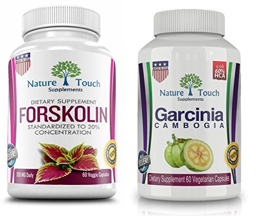 Forskolin for Weight Loss and Garcinia Cambogia Burn Fat, Belly Buster Diet Pills.