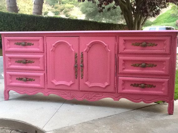 Fun Gorgeous Drexel Heritage Dresser On Etsy Vintage French Provincial Furniture