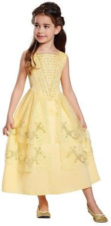 belle yellow ball gown meet and greet