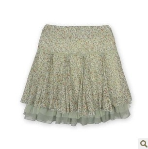 Aliexpress.com : Buy 2013 summer new collection!!!Chiffon knee length floral print skirt by boutique!!!Free Shipping!!! on Mom! Please, say yes!!!. $25.34