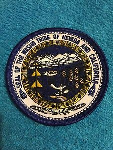Seal of The Washo Tribe of Nevada and California Patch Las Vegas Police | eBay