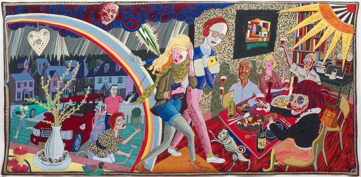 Expulsion From Number 8 Eden Close, Grayson Perry, 2012
