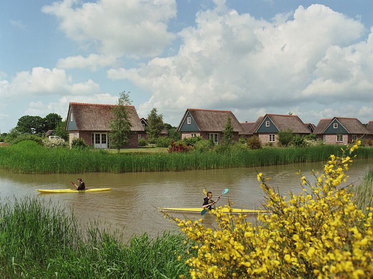 Ook worden de visvijvers voor andere leuke activiteiten gebruikt! https://www.vis-vakanties.nl/vakantiepark/villapark-de-weerribben/#vakantie #weekendjeweg
