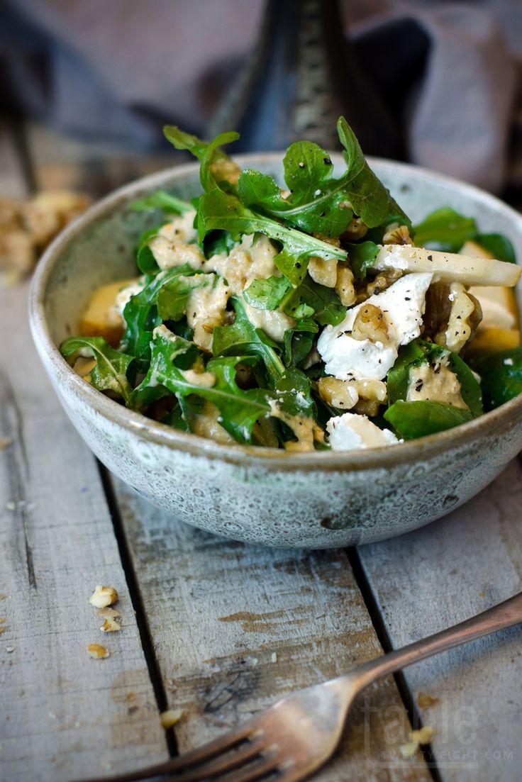 Изумительный салат с грушей и сыром
