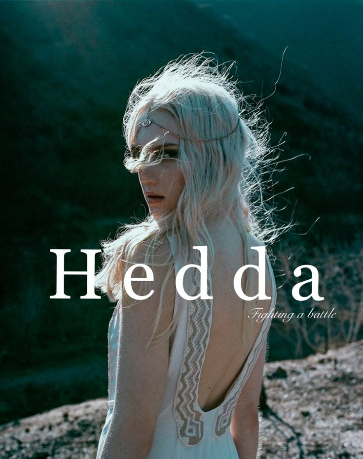 Hedda / German: fighting a battle (Samantha Harrington)