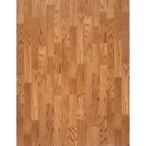 Pergo Presto Red Oak Blocked 8mm Laminate Flooring Sample